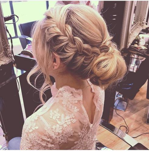 Bridesmaid Hair by Georgie